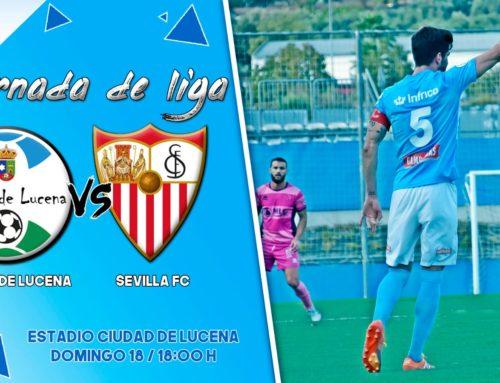 PREVIA   C.D Ciudad de Lucena vs Sevilla F.C C